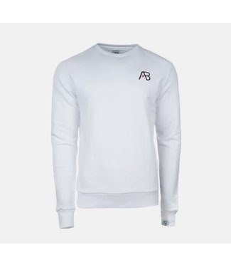 AB LIFESTYLE AB ESSENTIAL SWEATER - WIT