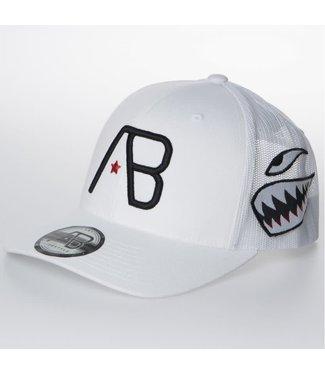 AB LIFESTYLE AB TRUCKER CAP AIRBORNE - WIT