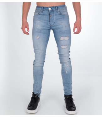 AB LIFESTYLE AB STRETCH JEANS - CALIFORNIA BLAUW