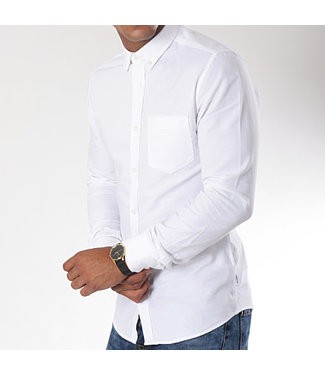 COOL MAN BLOUSE - WIT