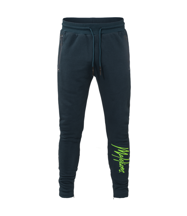 MALELIONS MALELIONS TRACKPANTS SIGNATURE - NAVY/GREEN