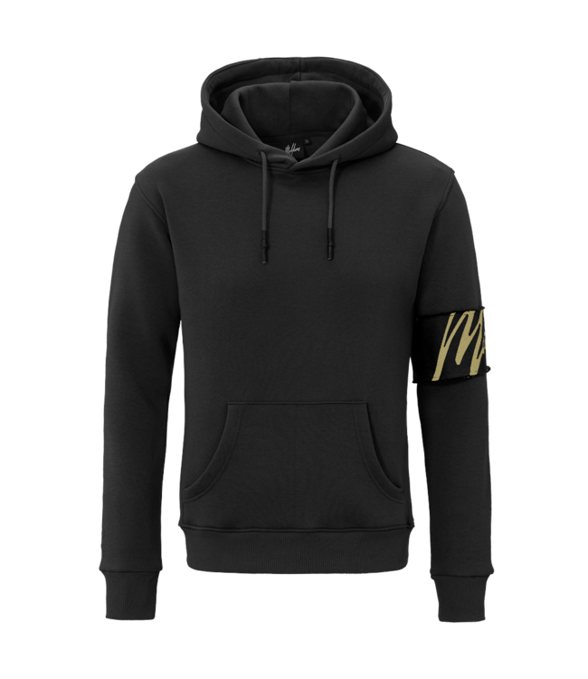MALELIONS MALELIONS CAPTAIN HOODIE - BLACK/GOLD