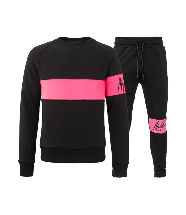 MALELIONS MALELIONS TRACKSUIT NEON COMBI - PINK
