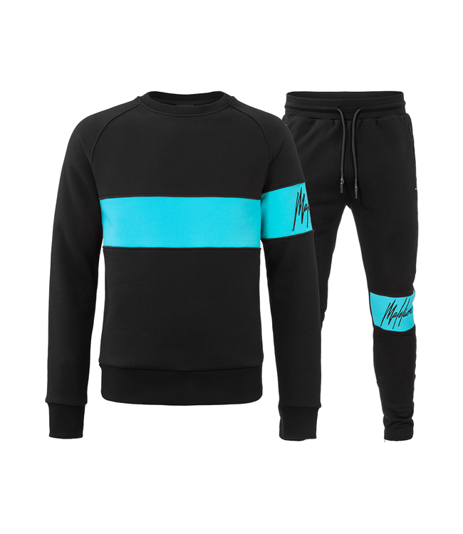 MALELIONS MALELIONS TRACKSUIT NEON COMBI - BLUE