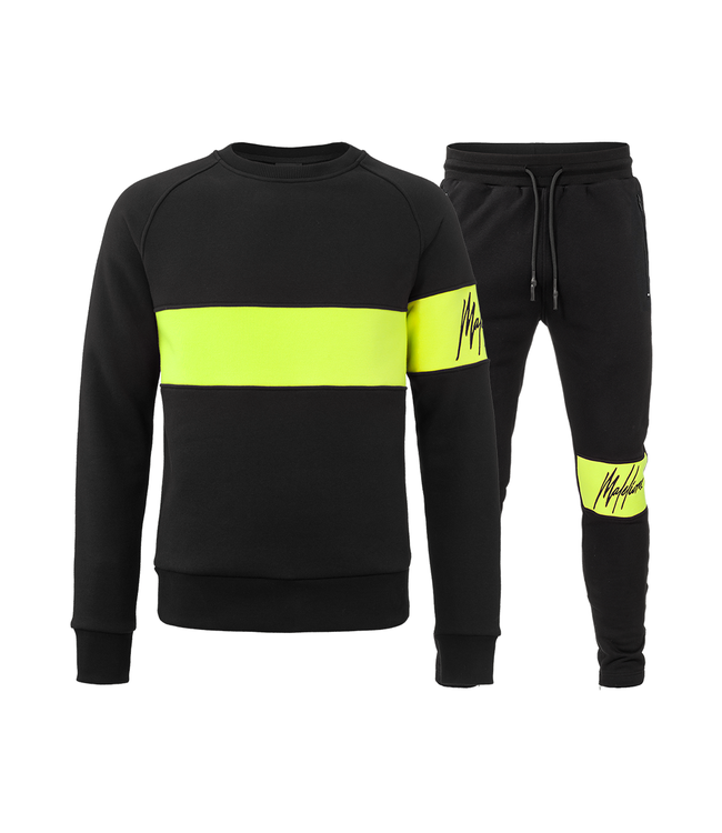 MALELIONS MALELIONS TRACKSUIT NEON COMBI - YELLOW