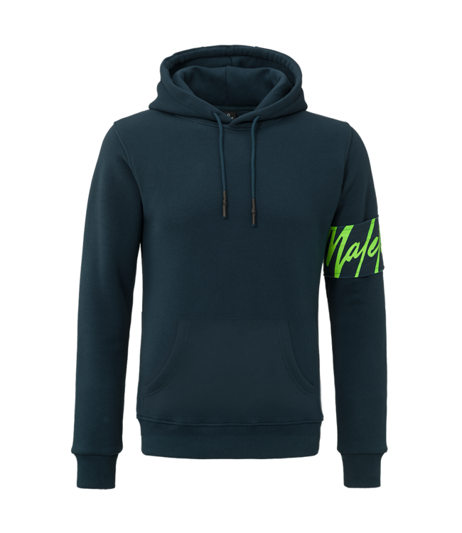 MALELIONS MALELIONS CAPTAIN HOODIE - NAVY/GREEN