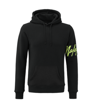 MALELIONS MALELIONS CAPTAIN HOODIE - BLACK/NEON YELLOW