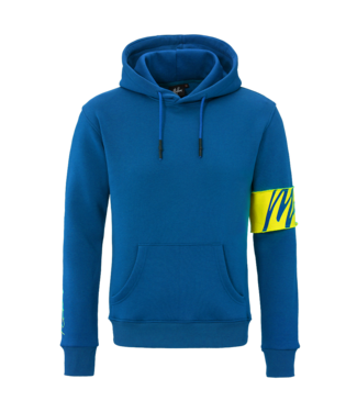 MALELIONS MALELIONS CAPTAIN HOODIE - COBALT BLUE/YELLOW