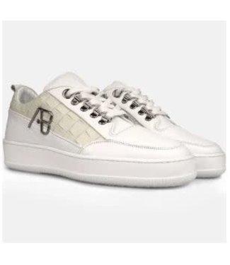AB LIFESTYLE AB FOOTWEAR CROCODILE - WHITE