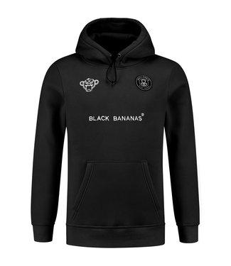 BLACK BANANAS BLACK BANANAS F.C. BASIC HOODIE - BLACK