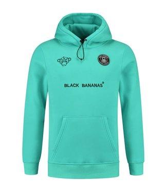 BLACK BANANAS BLACK BANANAS F.C. BASIC HOODIE - AQUA