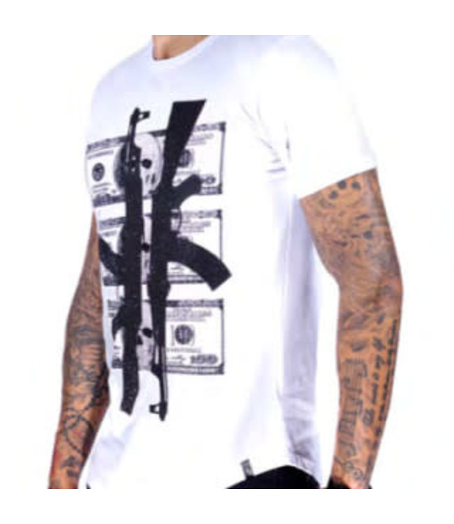 MTX MTX DIAMOND AK-47 T-SHIRT - WIT (AC822)