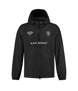 BLACK BANANAS BLACK BANANAS KIDS THE ANORAK WINDBREAKER - BLACK