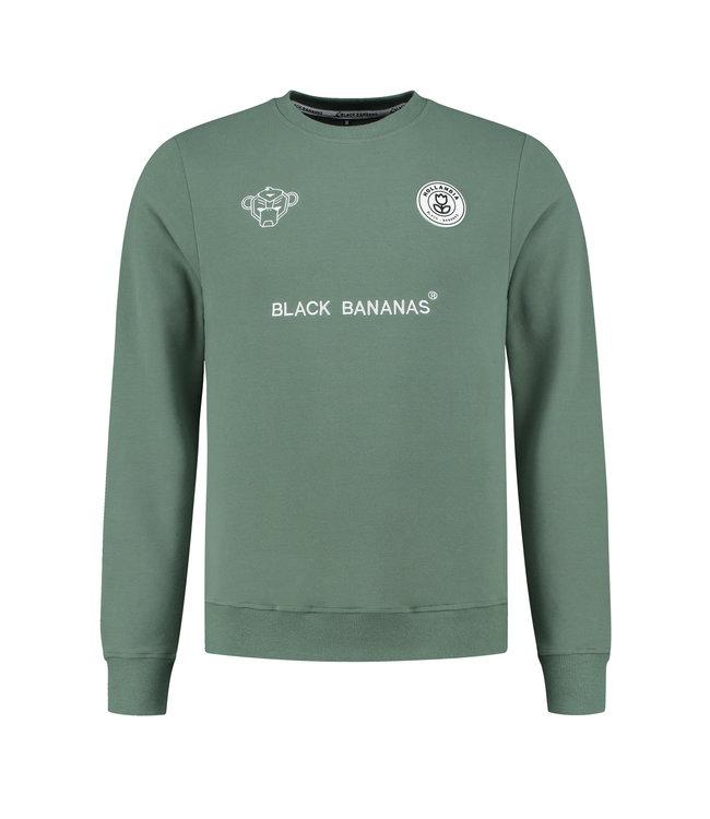 BLACK BANANAS BLACK BANANAS F.C. CREWNECK - GREEN