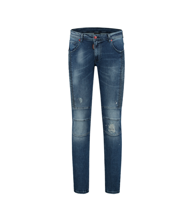 CARTELLO CARTELLO DENIM JEANS - BLUE