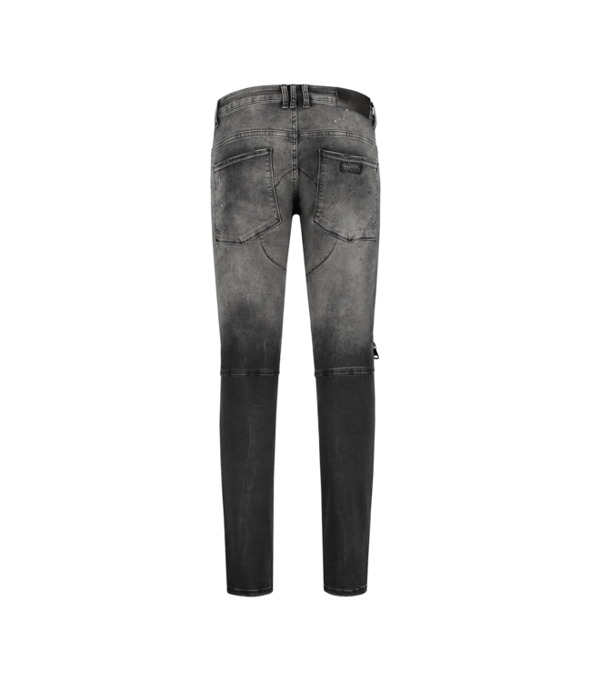 CARTELLO CARTELLO DENIM JEANS - GREY