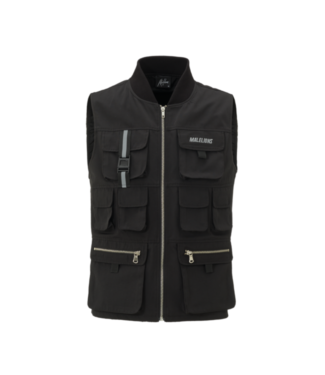MALELIONS MALELIONS TACTICAL VEST CURSIEF REFLECTIVE - BLACK