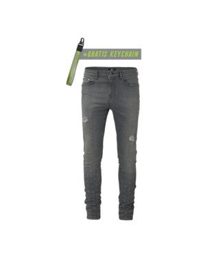 MALELIONS MALELIONS JEANS SMALL DAMAGED - GREY