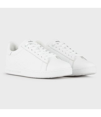 EA7 SNEAKER ACTION LEATHER - WHITE