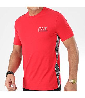 EA7 T-SHIRT - RACING RED (PJ03Z)