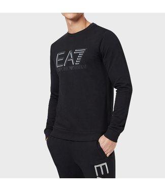 EA7 SWEATSHIRT - BLACK (3HPM93)