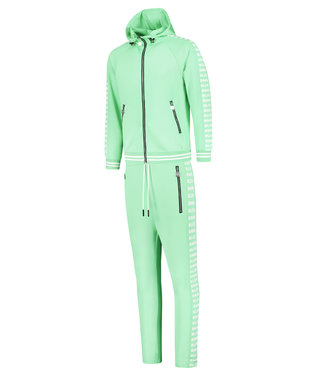 BLACK BANANAS BLCK NEW YORK TRACKSUIT - MINT GREEN