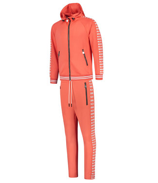 BLACK BANANAS BLCK NEW YORK TRACKSUIT - SALMON