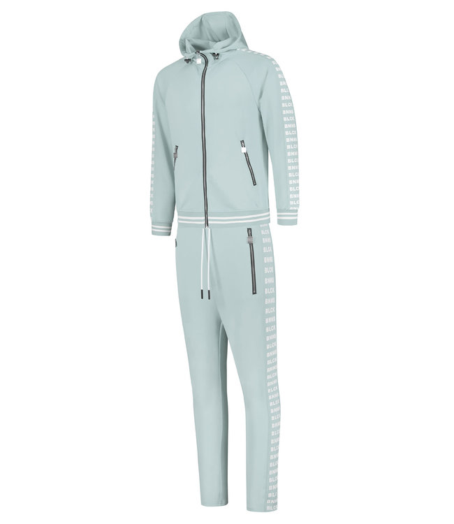 BLACK BANANAS BLCK NEW YORK TRACKSUIT - ICE BLUE