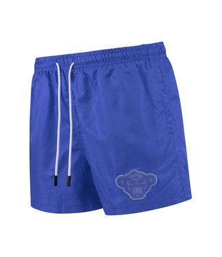 BLACK BANANAS PORTO PATCH SWIMSHORT - BLUE