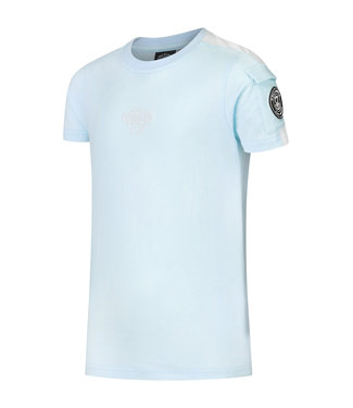 BLACK BANANAS KIDS THE POCKET TEE - LIGHT BLUE