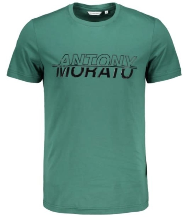 ANTONY MORATO T-SHIRT - EMERALD (MMKS01816)