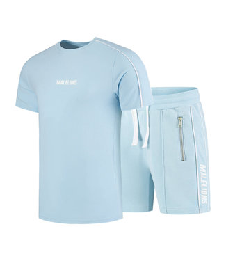 MALELIONS TWINSET THIES LIGHT BLUE