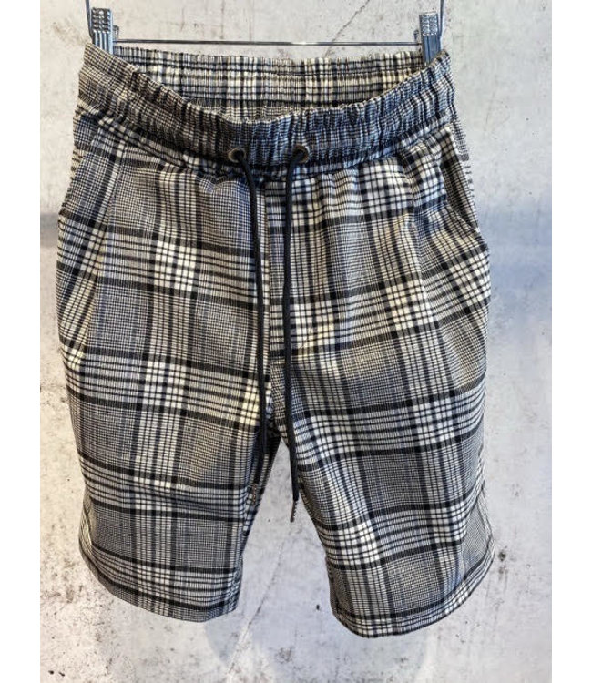 UNIPLAY SOFT PANTS CHECKERS SHORT - (UP-T3539)