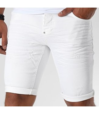 UNIPLAY SHORT STRETCH JEANS - WHITE (359)