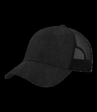 MALELIONS CAP SIGNATURE - BLACK/BLACK SUEDE