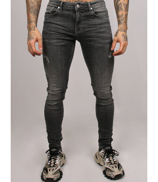 2LEGARE NOAH STRETCH JEANS - MID GREY (103)