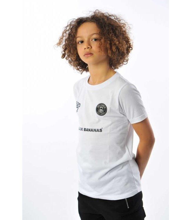 BLACK BANANAS KIDS THE F.C. 2.0 TEE - WHITE
