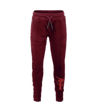 MALELIONS JUNIOR TRACKPANTS SIGNATURE - BORDEAUX