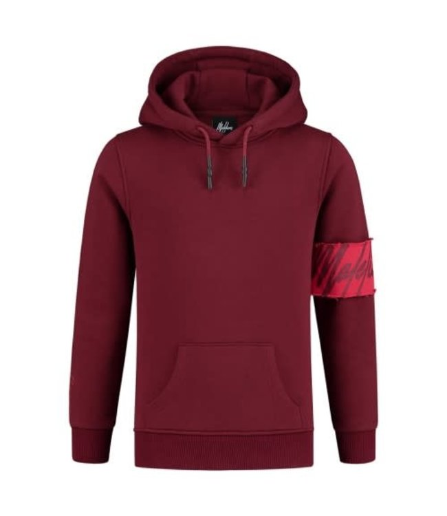 MALELIONS JUNIOR CAPTAIN HOODIE - BORDEAUX