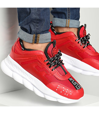 UNIPLAY CHAIN REACTION SNEAKER - RED