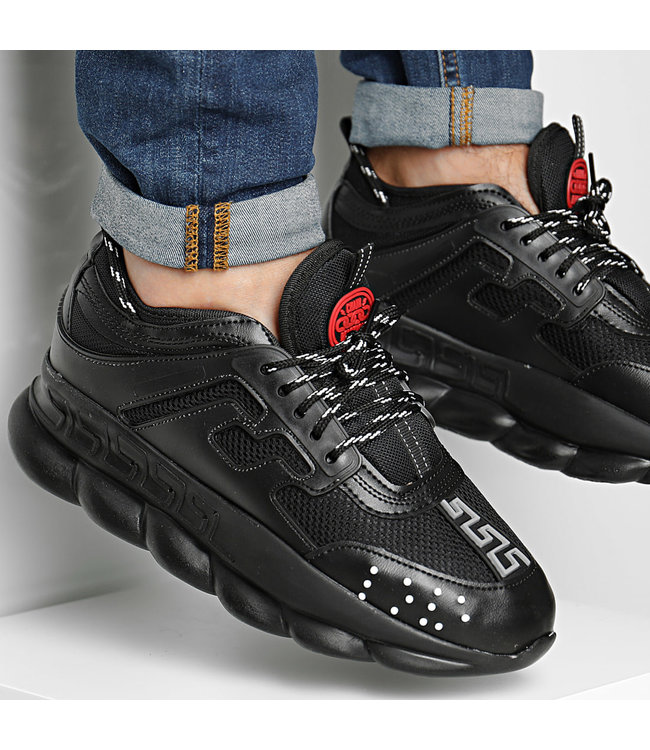 UNIPLAY CHAIN REACTION SNEAKER - BLACK