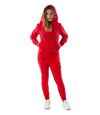 BLACK BANANAS JR INCOGNITO HOODY - RED