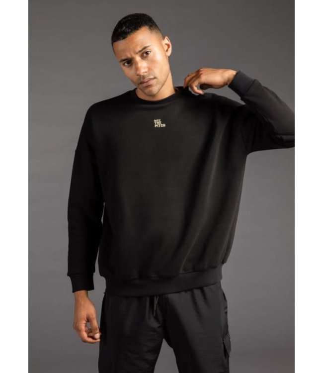 OFF THE PITCH THE LOVER SWEATER - BLACK