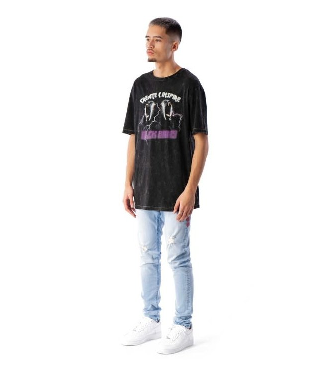 BLACK BANANAS SCREAM TEE - BLACK