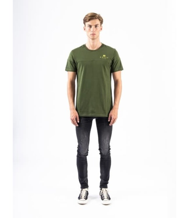 XPLCT BRAND TEE 2.0 - ARMY