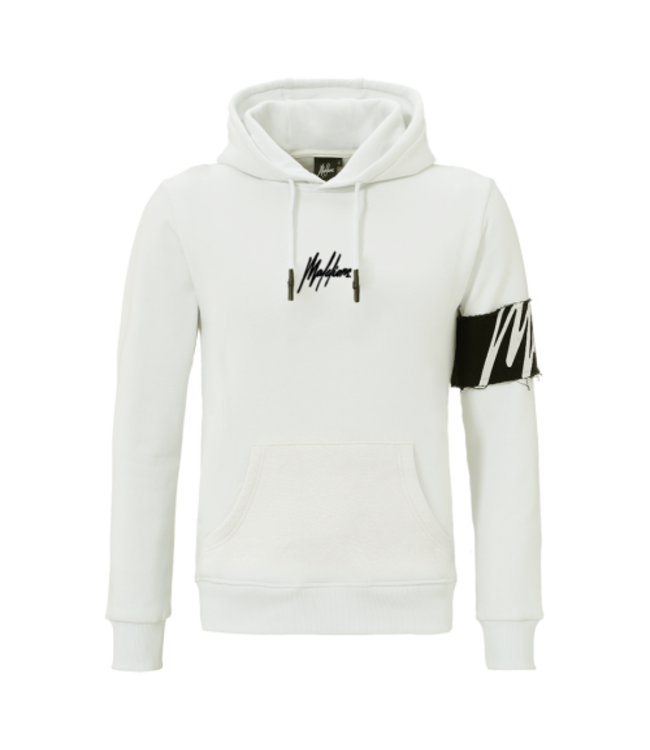 MALELIONS CAPTAIN HOODIE - OFF-WHITE