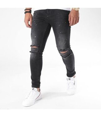 UNIPLAY SKINNY FIT JEANS - BLACK (347)