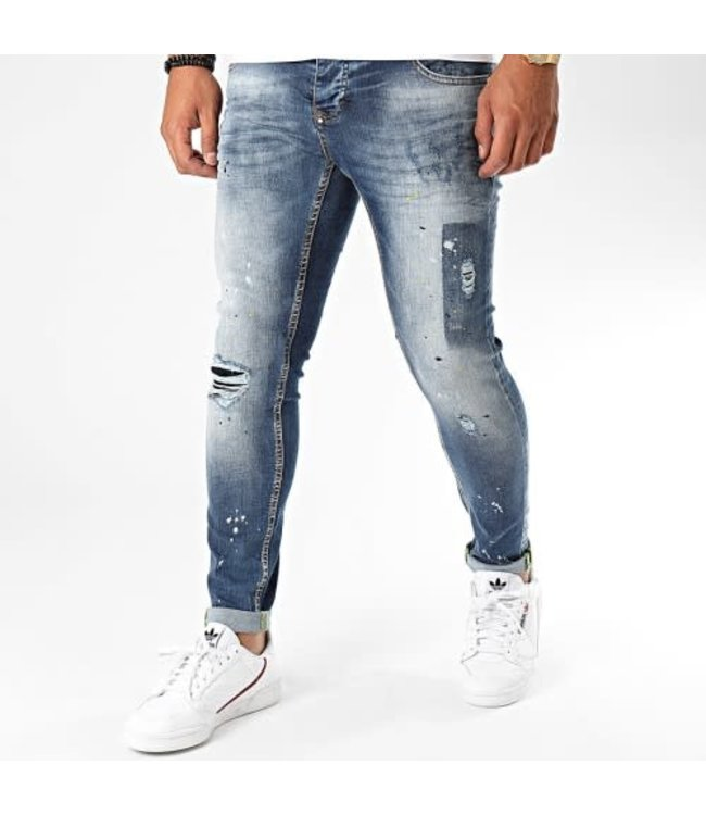 UNIPLAY SKINNY FIT JEANS - BLUE (346)