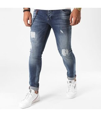 UNIPLAY SKINNY FIT JEANS - BLUE (345)