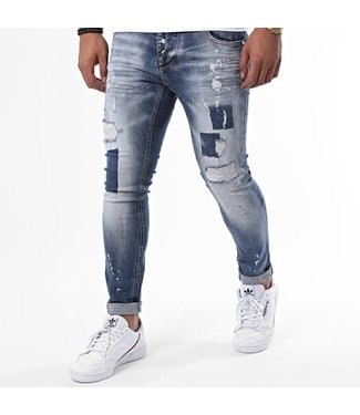 UNIPLAY SKINNY FIT JEANS - BLUE (341)